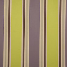 Buy John Lewis Hotel Stripe Curtain, Purple Online at johnlewis.com