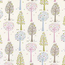 Buy John Lewis Magic Trees Curtain, Multi Online at johnlewis.com