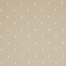 Buy John Lewis Maleeha Spot Curtain, Putty Online at johnlewis.com
