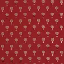 Buy John Lewis Oakwood Curtain, Claret Online at johnlewis.com
