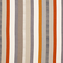 Buy John Lewis Refined Puritan Stripe Curtain, Clementine Online at johnlewis.com