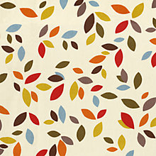 Buy John Lewis Scattered Leaves Curtain, Multi Online at johnlewis.com