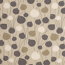 Buy John Lewis Chinese Lanterns Curtain, Steel Online at johnlewis.com