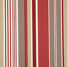 Buy John Lewis Multi Stripe Curtain, Claret Online at johnlewis.com
