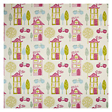 Buy John Lewis My House Curtain, Pink Online at johnlewis.com