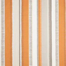Buy John Lewis Pioneer Stripe Curtain, Clementine Online at johnlewis.com