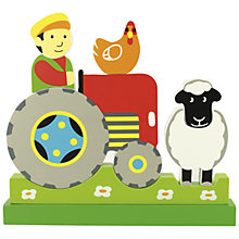 Buy Bigjigs Magnetic Farm Puzzle Online at johnlewis.com