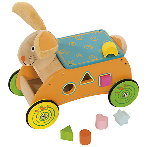 Buy Bigjigs Bunny Ride On Online at johnlewis.com