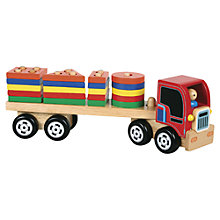 Buy Bigjigs Shape Sorting Lorry Online at johnlewis.com