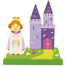 Buy Bigjigs Magnetic Princess Puzzle Online at johnlewis.com