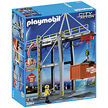 Buy Playmobil Loading Terminal Online at johnlewis.com