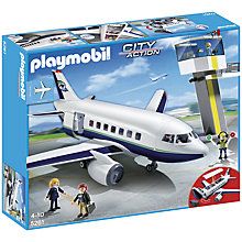 Buy Playmobil Cargo Passenger Plane Online at johnlewis.com