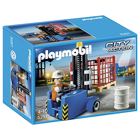 Buy Playmobil City Action Forklift Online at johnlewis.com