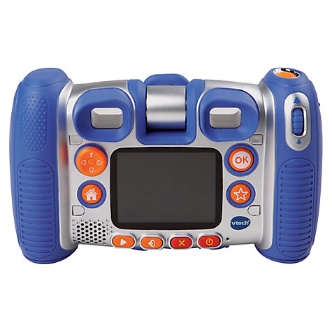 Buy VTech Kidizoom Twist Plus Digital Camera With Exclusive Carry Case, Blue Online at johnlewis.com