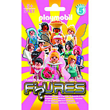 Buy Playmobil Girls Figures Blind Bag, Series 5, Assorted Online at johnlewis.com