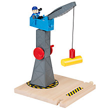 Buy Brio Tower Crane Online at johnlewis.com