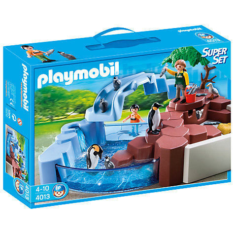 Buy Playmobil Penguin Super Set Online at johnlewis.com