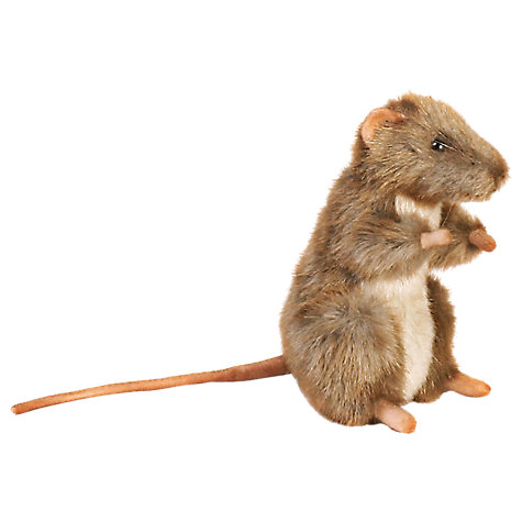 Buy Hansa Sitting Mouse Soft Toy Online at johnlewis.com