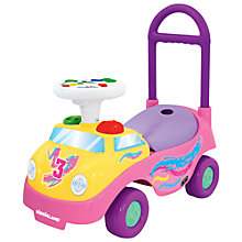 Buy Kiddieland My 1st Roadster, Pink Online at johnlewis.com