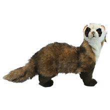 Buy Hansa Standing Ferret Soft Toy Online at johnlewis.com