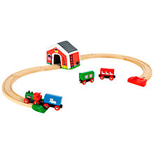 Buy Brio My First Railway Set Online at johnlewis.com