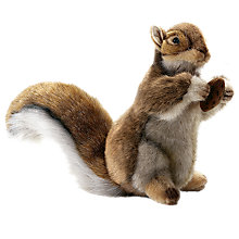 Buy Hansa Red Squirrel Soft Toy Online at johnlewis.com