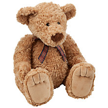 Buy John Lewis Ribbon Detail Bear, Large Online at johnlewis.com