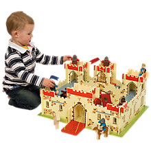 Buy Bigjigs Castle Online at johnlewis.com