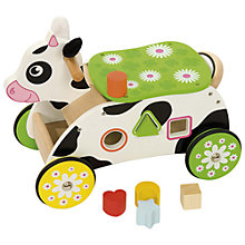 Buy Bigjigs Cow Ride On Online at johnlewis.com