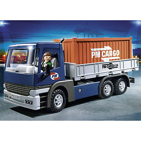 Buy Playmobil Cargo Truck With Container Online at johnlewis.com