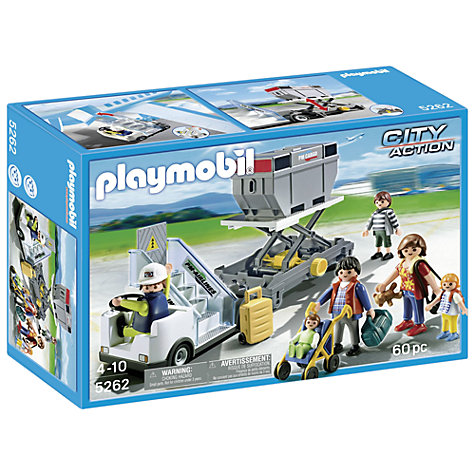 Buy Playmobil Aircraft Stairs and Cargo Online at johnlewis.com