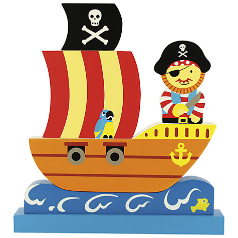 Buy Bigjigs Magnetic Pirate Puzzle Online at johnlewis.com