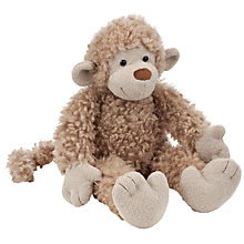 Buy John Lewis Bobbly Monkey Soft Toy Online at johnlewis.com