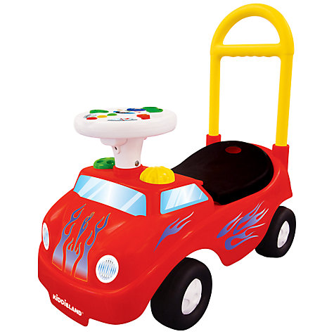 Buy Kiddieland My 1st Roadster, Red Online at johnlewis.com