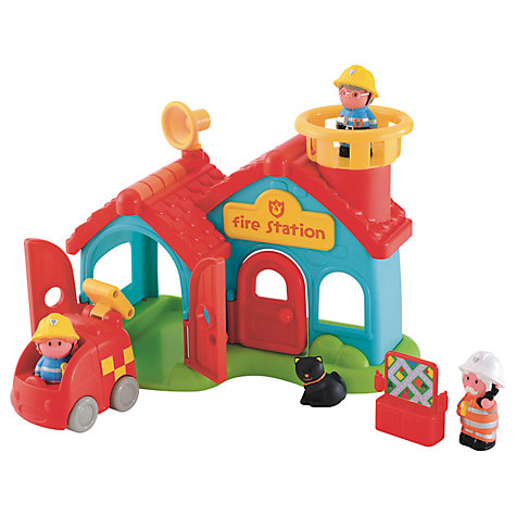 Buy Early Learning Centre HappyLand Fire Station Online at johnlewis.com