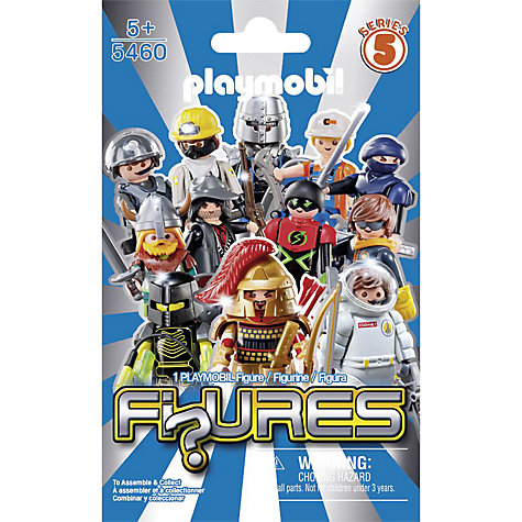 Buy Playmobil Figures Boys Blind Bag, Series 5, Assorted Online at johnlewis.com