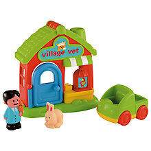 Buy Early Learning Centre HappyLand Village Vet Online at johnlewis.com