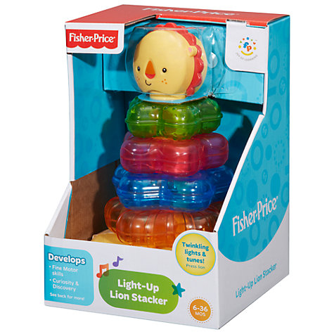 Buy Fisher-Price Light Up Lion Stacker Online at johnlewis.com