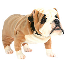 Buy Hansa British Bulldog Soft Toy Online at johnlewis.com