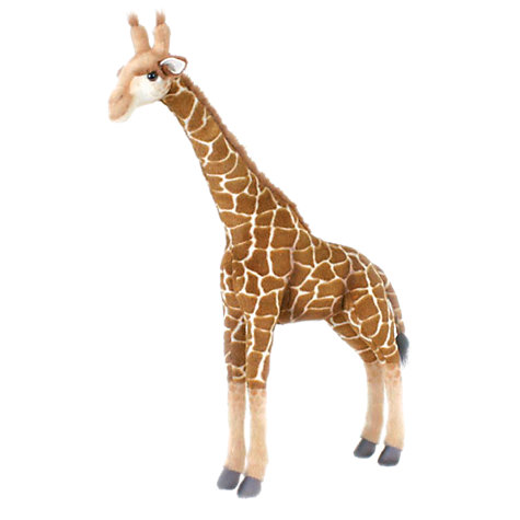 Buy Hansa Standing Giraffe Soft Toy Online at johnlewis.com