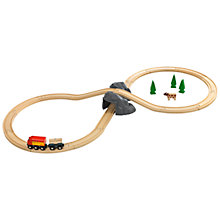 Buy Brio Figure 8 Mountain Train Set Online at johnlewis.com
