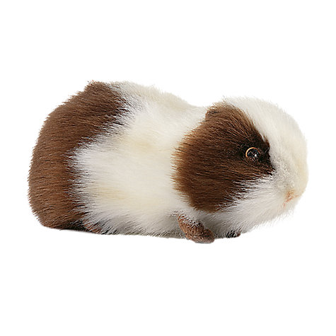 Buy Hansa Guinea Pig Soft Toy, Brown/White Online at johnlewis.com