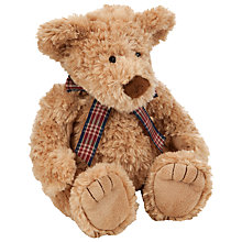 Buy John Lewis Ribbon Detail Bear, Small Online at johnlewis.com