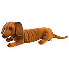 Buy Hansa Dachshund Pup Soft Toy Online at johnlewis.com