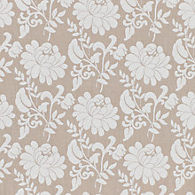 Buy John Lewis Azalea Floral Curtain, Linen Online at johnlewis.com