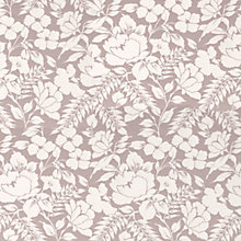 Buy John Lewis Wild Woven Floral Curtain, Mauve Online at johnlewis.com