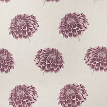 Buy Maggie Levien for John Lewis Adela Curtain, Aubergine, Reduced to clear Was £25.00 per metre now £12.00 per metre Online at johnlewis.com