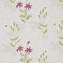 Buy John Lewis Botanist Garden Curtain, Mulberry Online at johnlewis.com