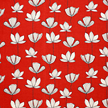 Buy John Lewis Gingko Curtain, Chilli Online at johnlewis.com