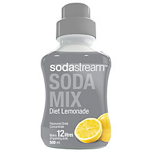 Buy SodaStream Diet Lemonade Mix, 0.5L Online at johnlewis.com